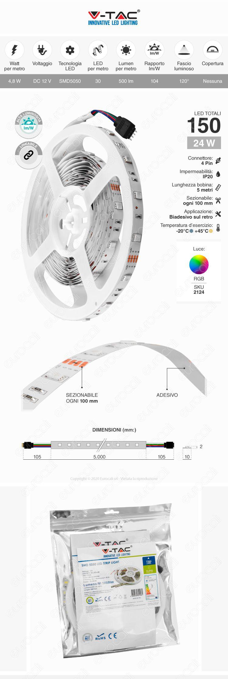striscia LED RGB