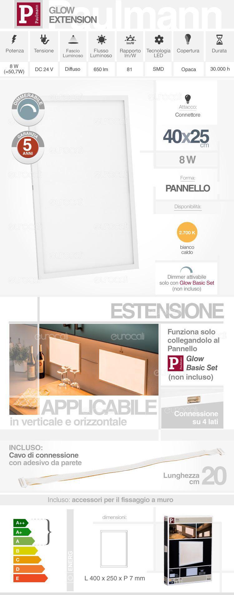 Pannello LED Paulmann
