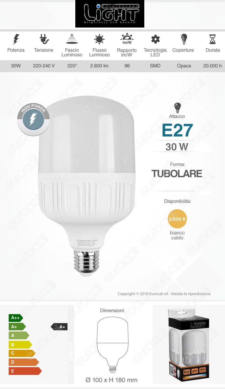 Lampadina LED hi-power skylighting
