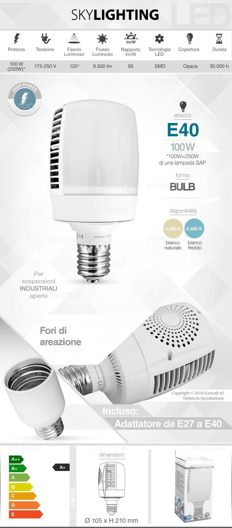 Lampadina LED SkyLighting E40