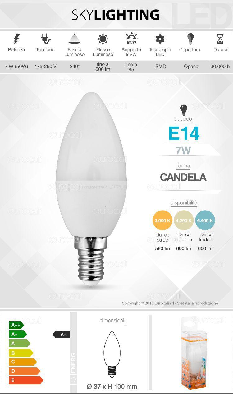 Lampadina LED SkyLighting E14