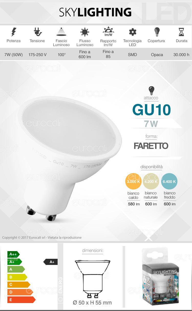 Lampadina LED SkyLighting GU10