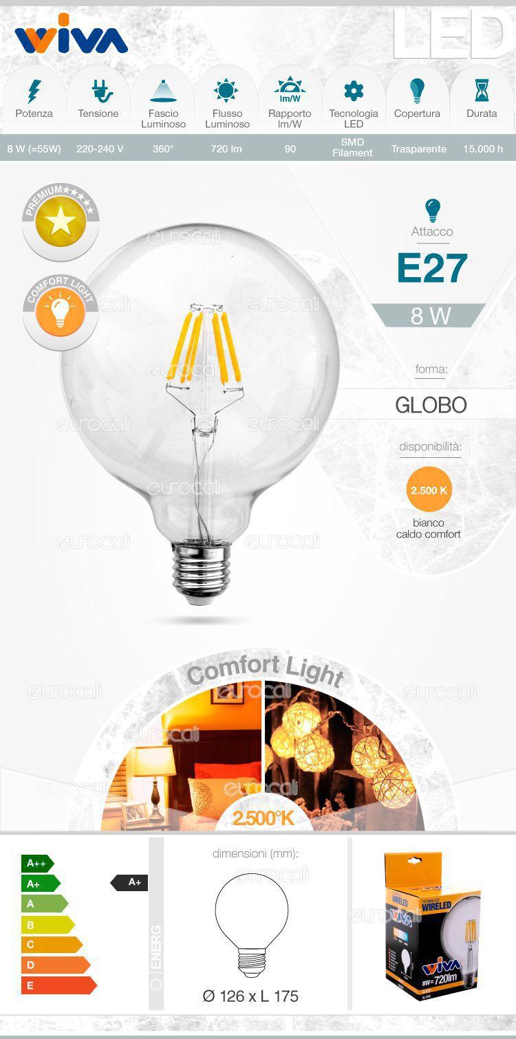 Wiva Lampadina LED E27
