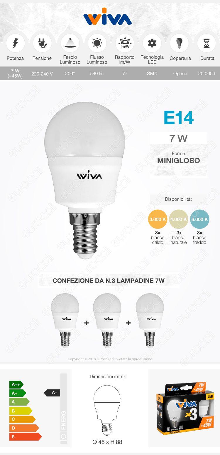 Wiva Lampadina LED E14