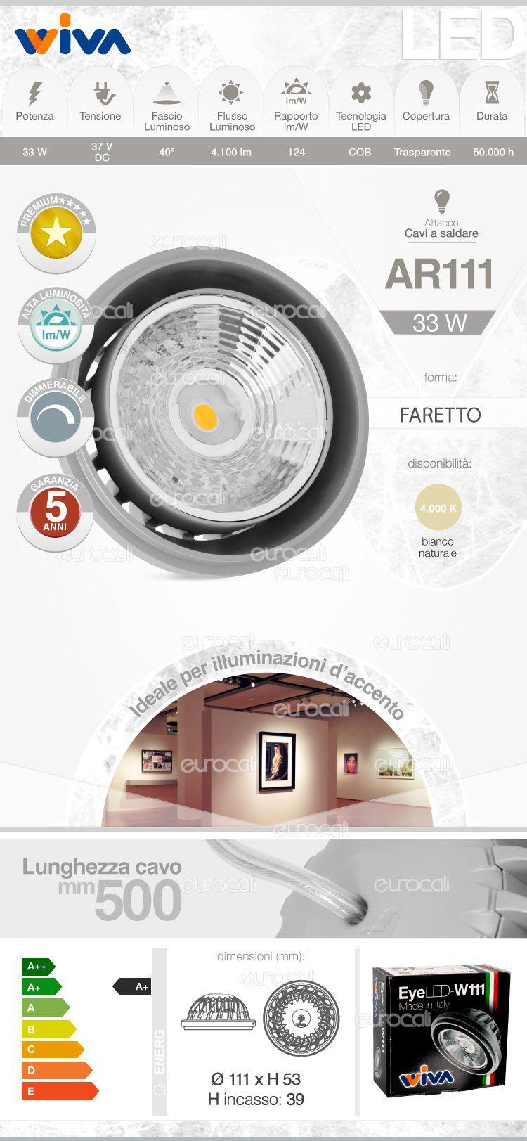 Wiva Lampadina LED AR111