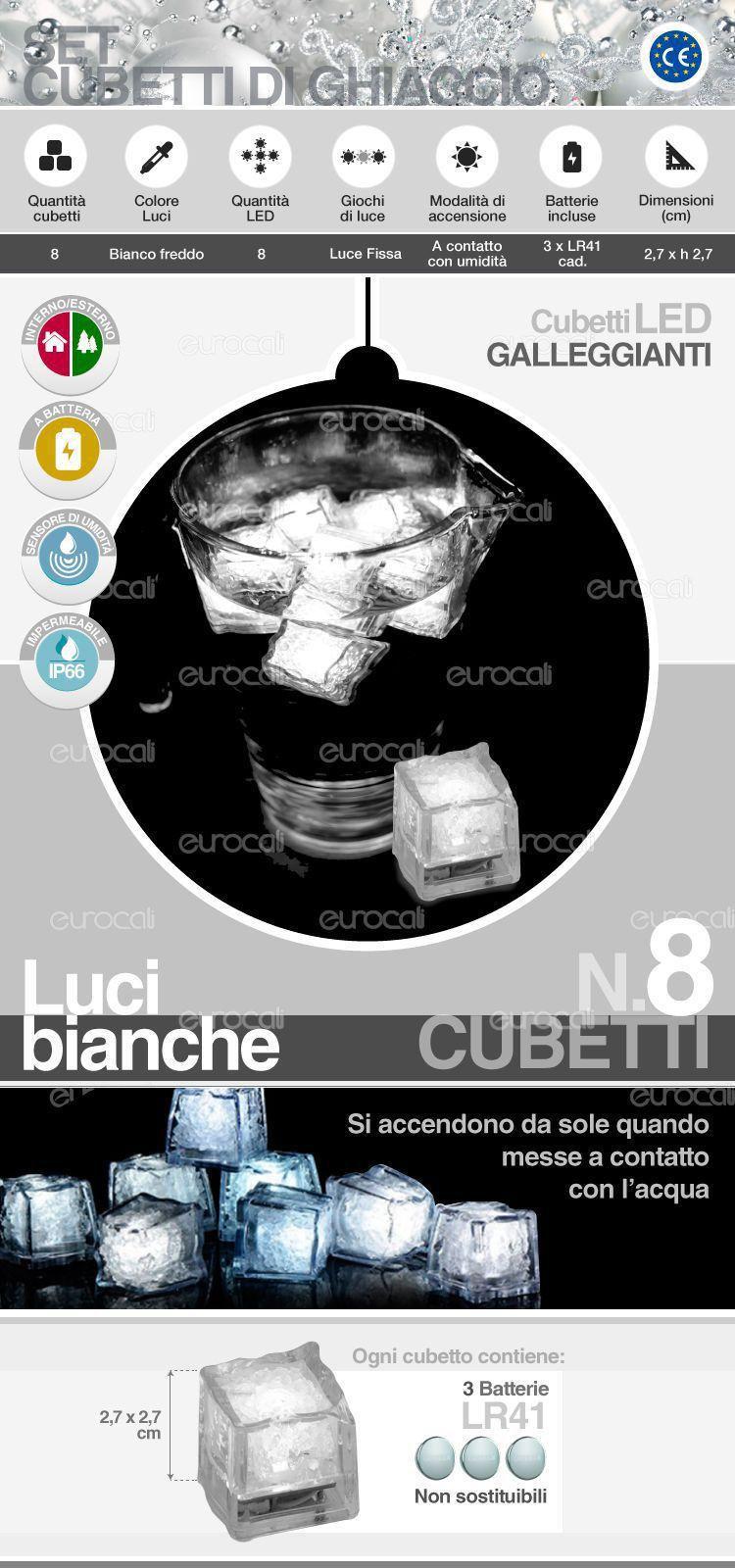 Cubetti Ghiaccio LED