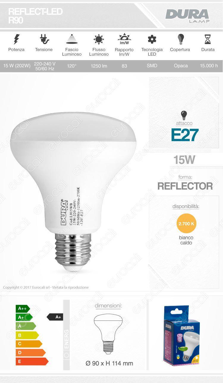 Lampadina LED Duralamp E27