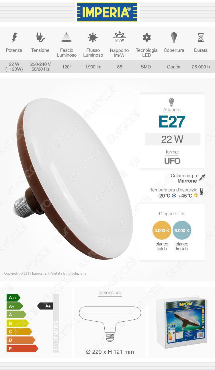 Imperia Lampadina LED E27