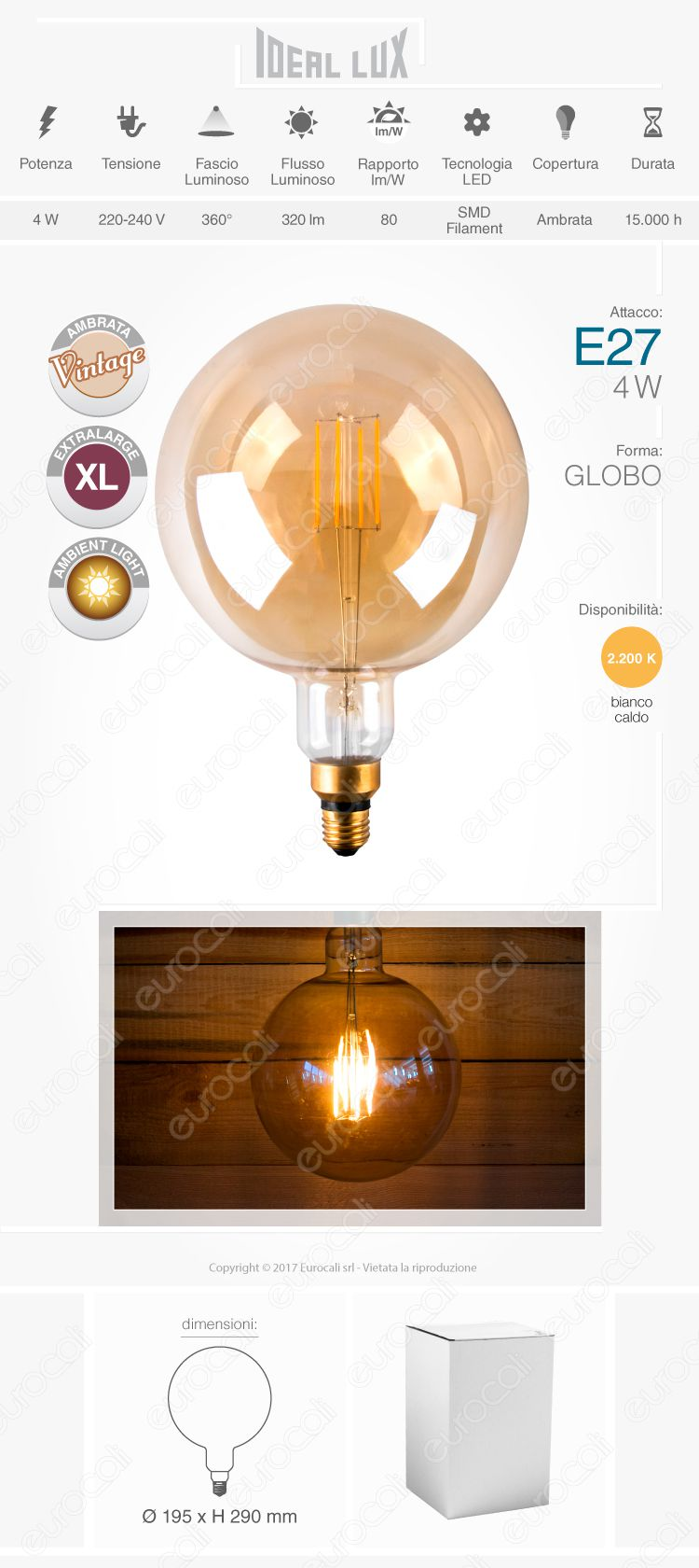 lampada led e27