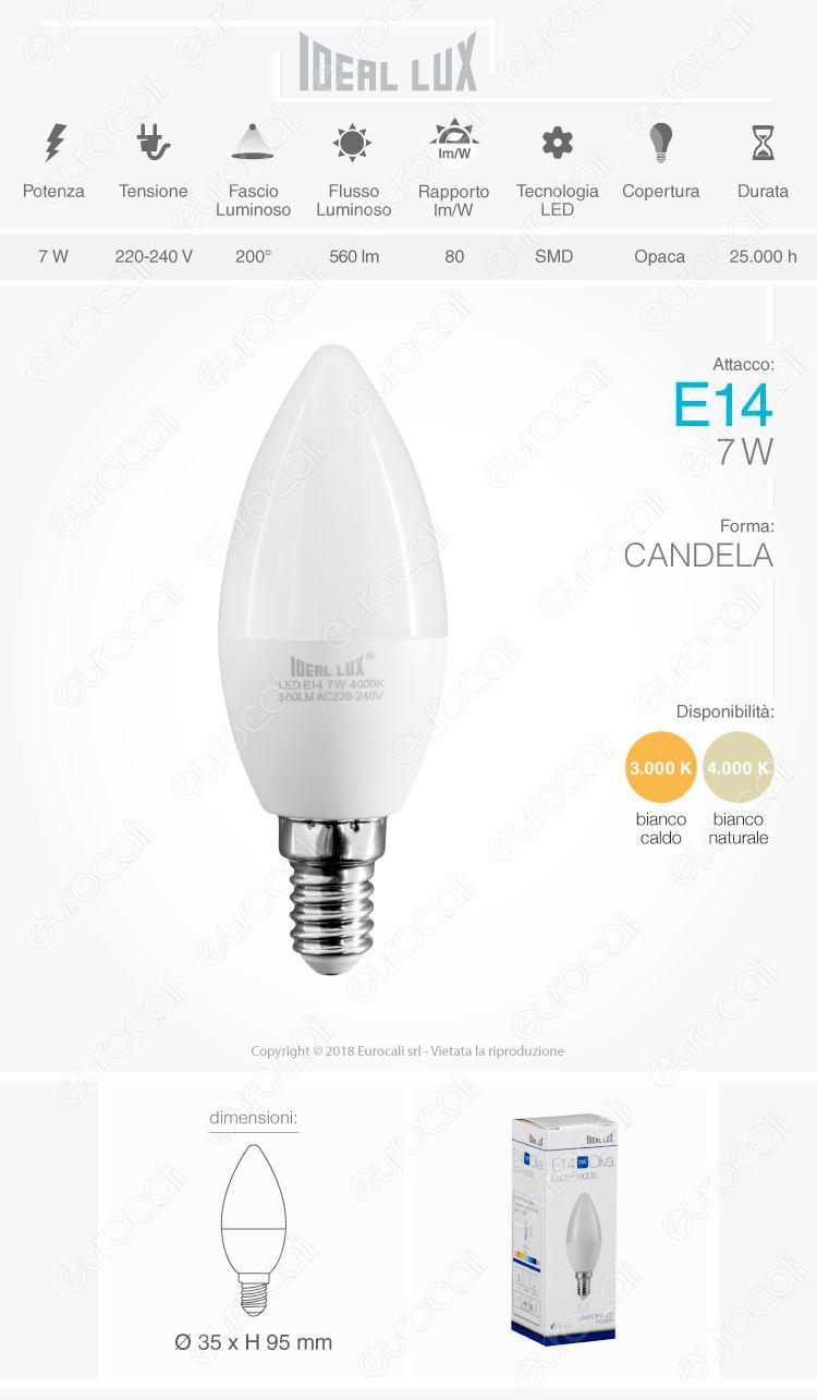 Ideal Lux Lampadina LED E27