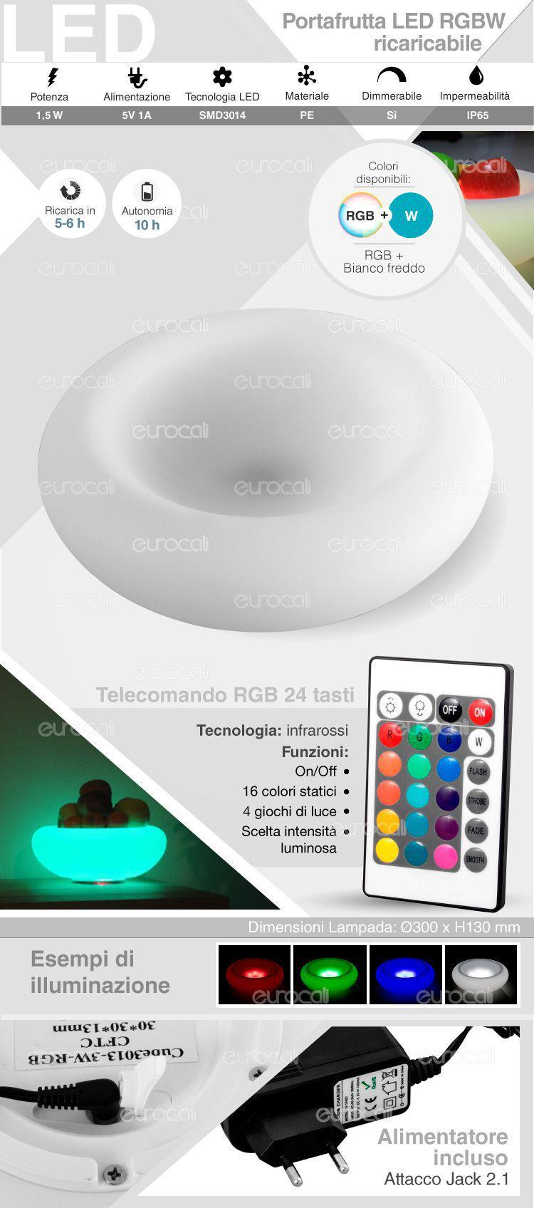 portafrutta RGB+W IP 65