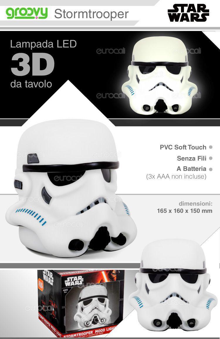 lampada LED da tavolo Star Wars