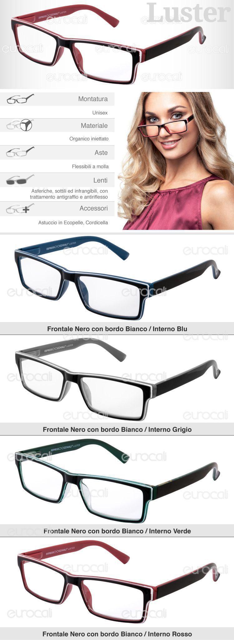 espresso occhiali