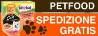 Spedizione Gratis con Pet Food