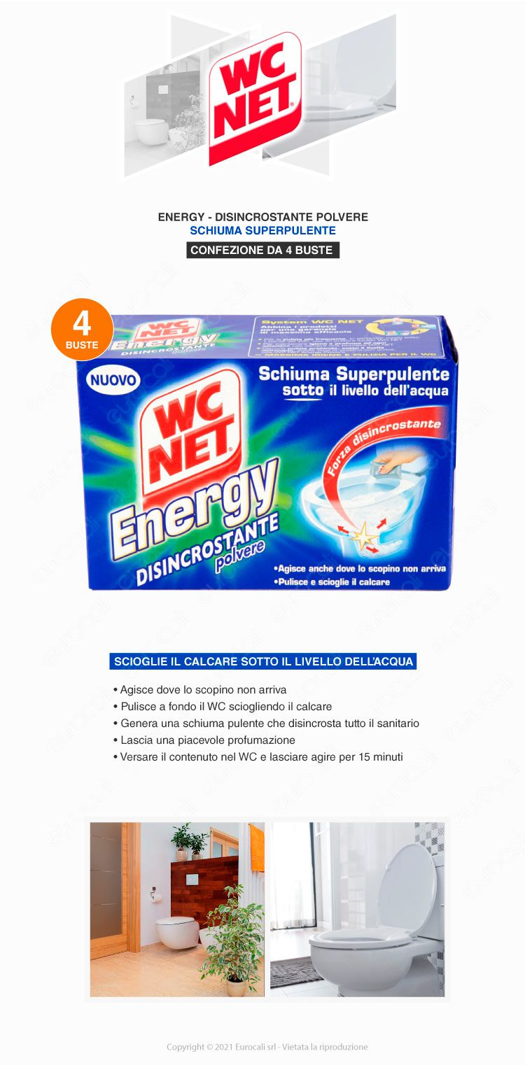 wc net energy candeggina in polvere