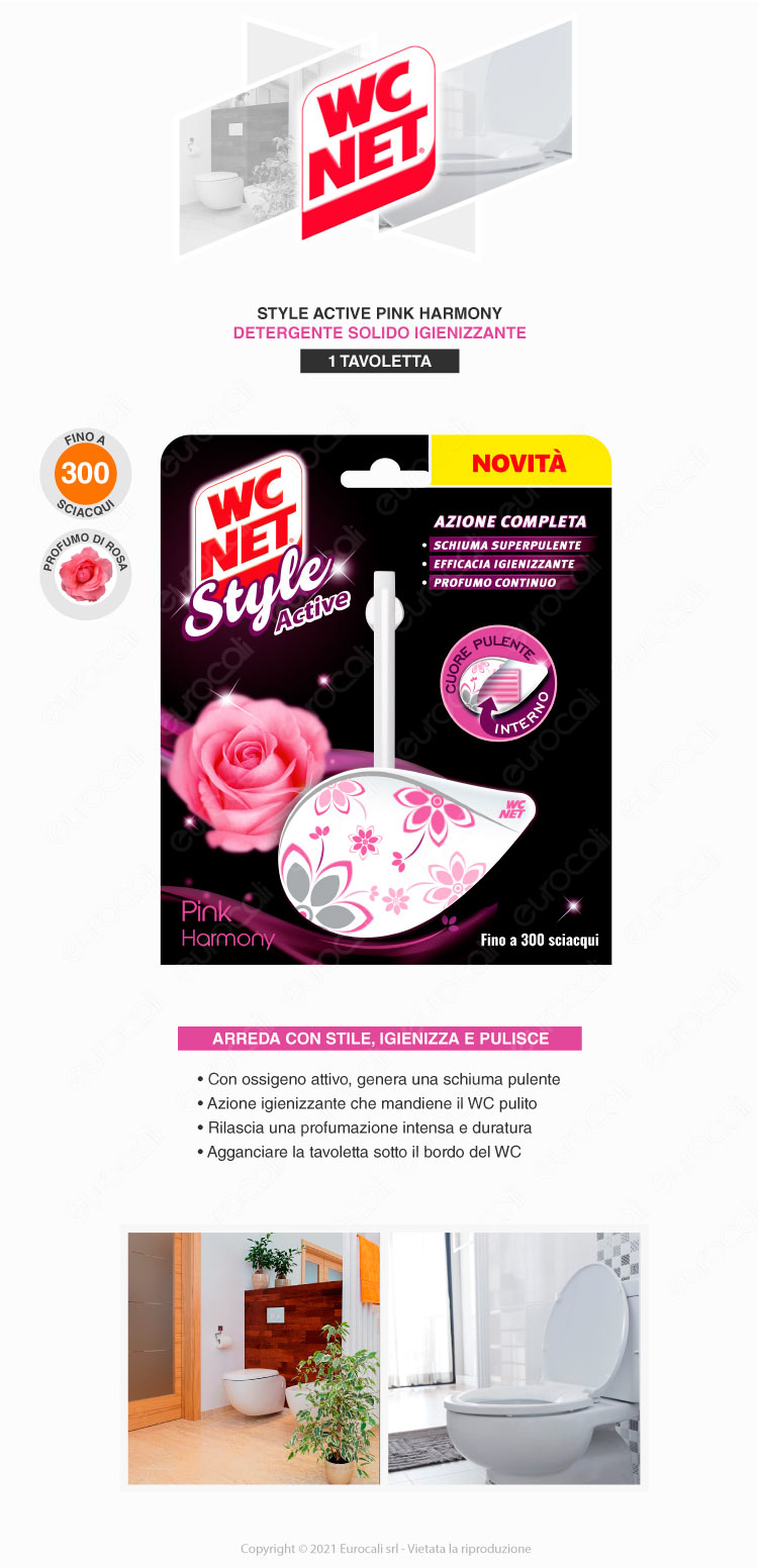 wc net style pink