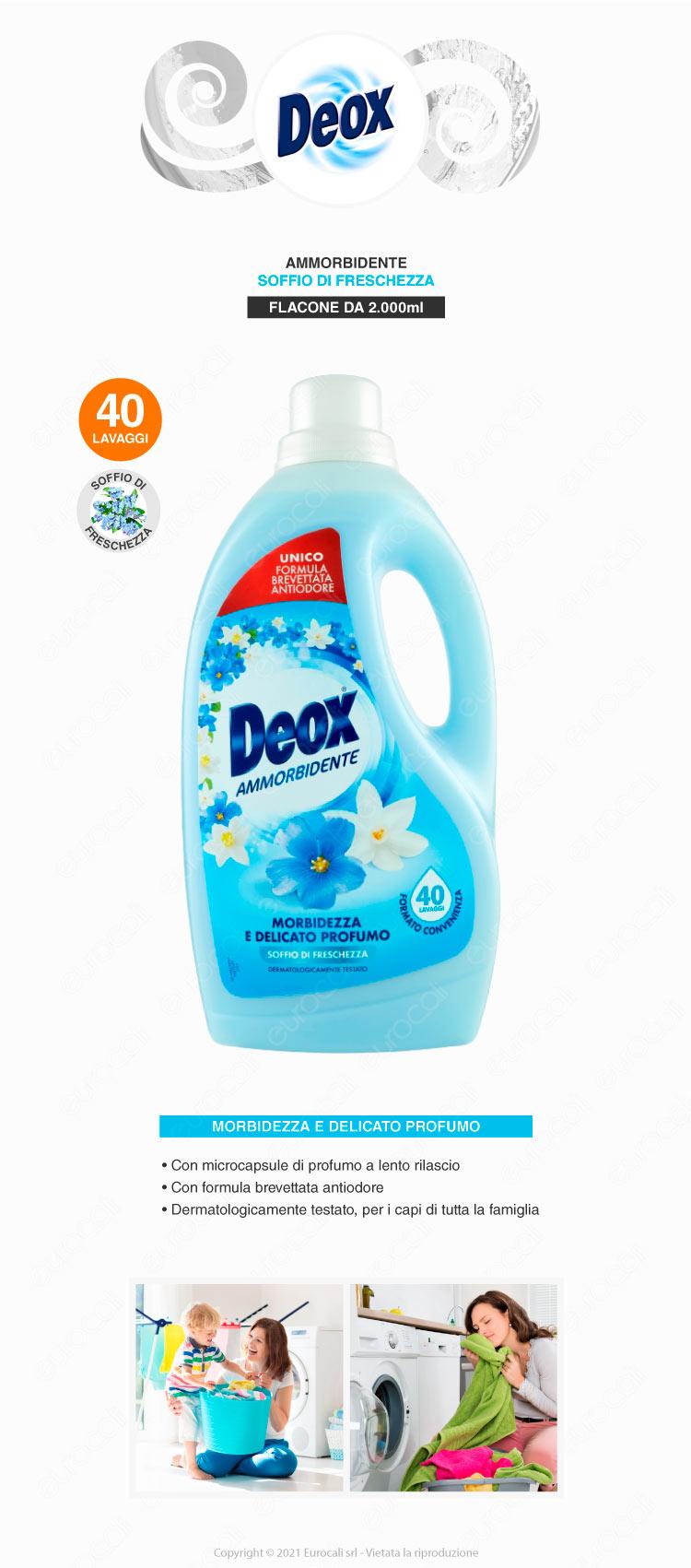 deox ammorbidente soffio di freschezza