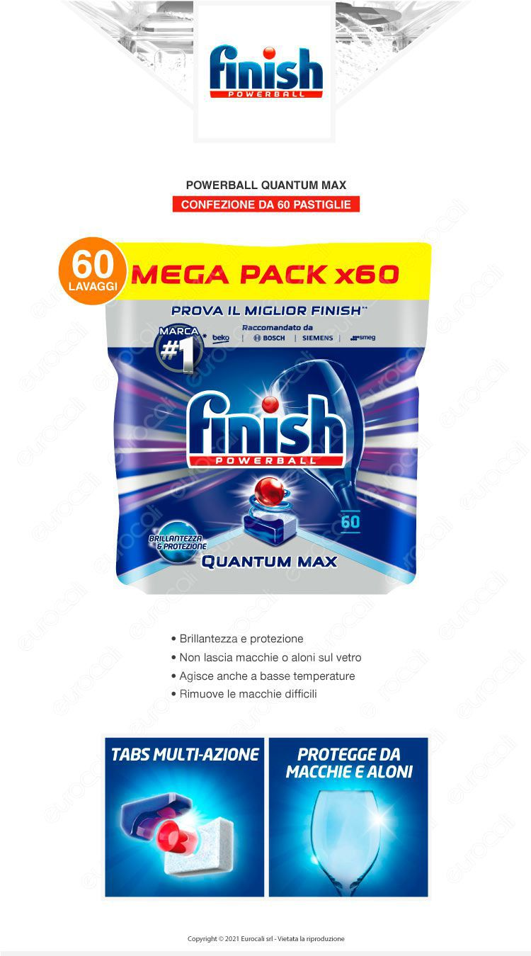 Finish Quantum Max 60 Lemon