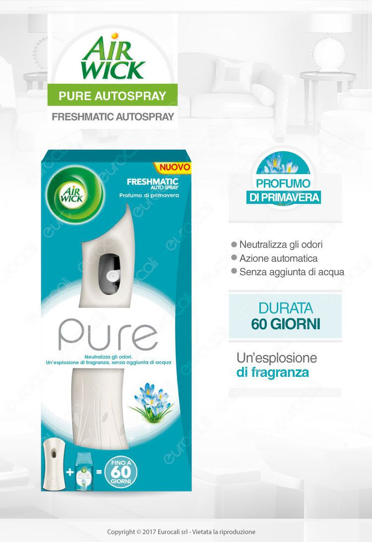 Air Wick freshmatic auto spray profumo di primavera