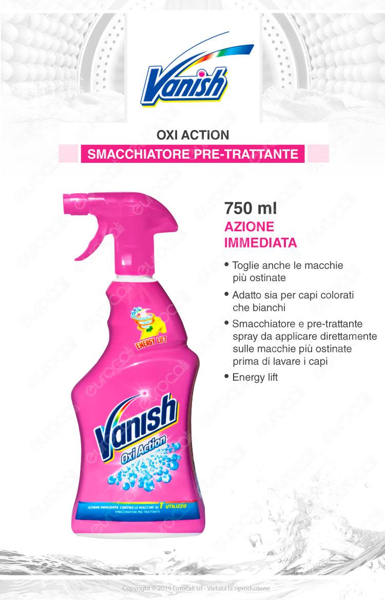 Vanish oxi action pretrattante spray 750ml
