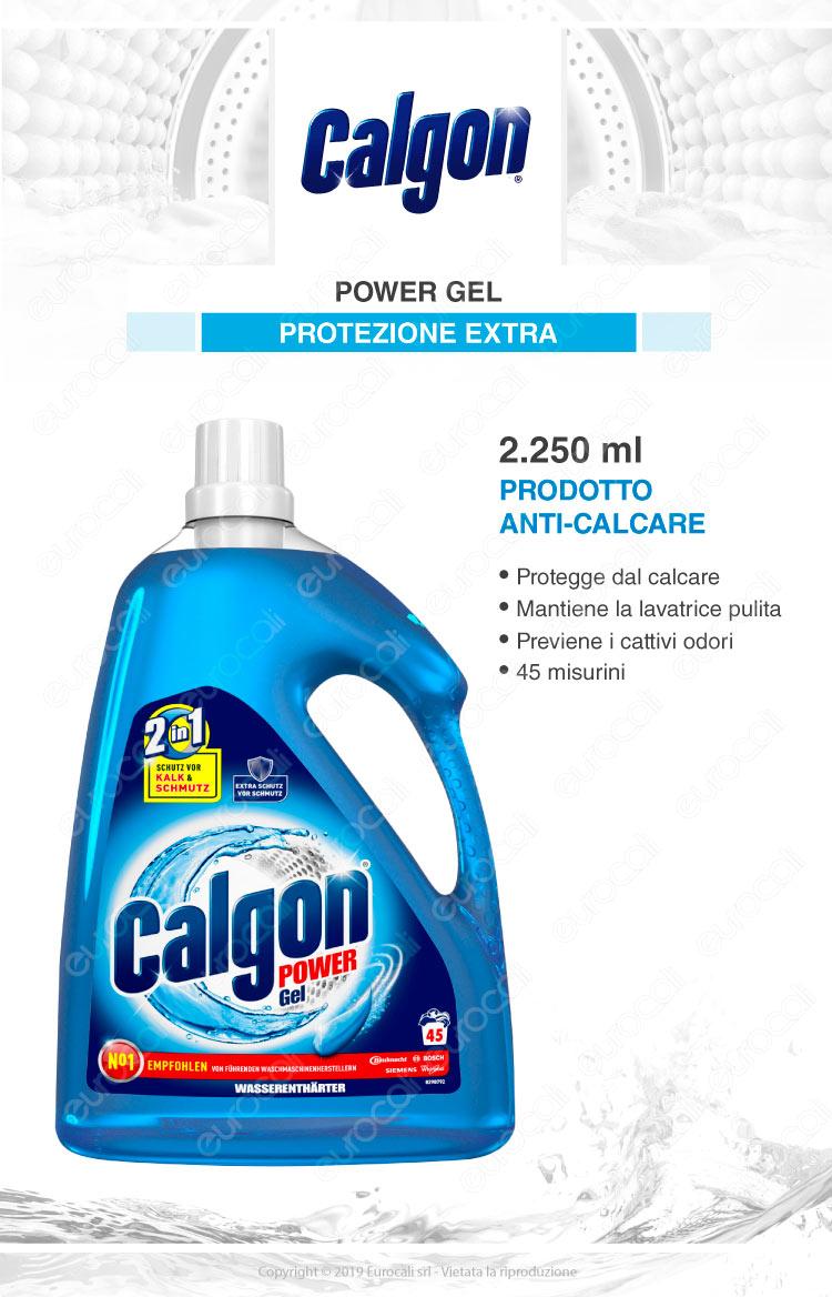 Calgon 2in1 gel igenizzante lavatrice 2250ml