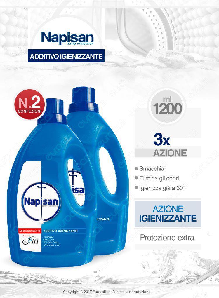 Napisan additivo igienizzante liquido 2x1200ml