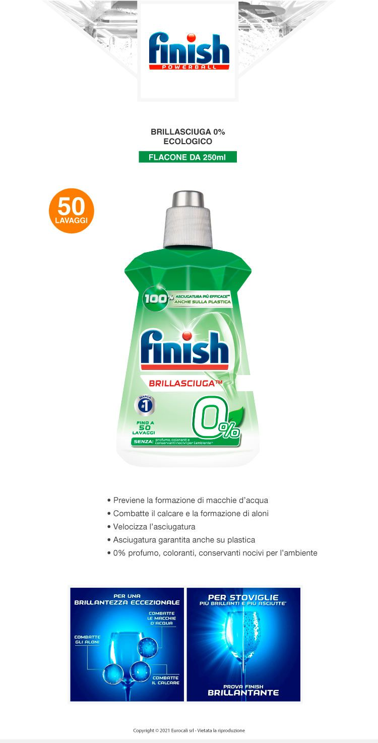 Finish Brillantante 0% 250 ml