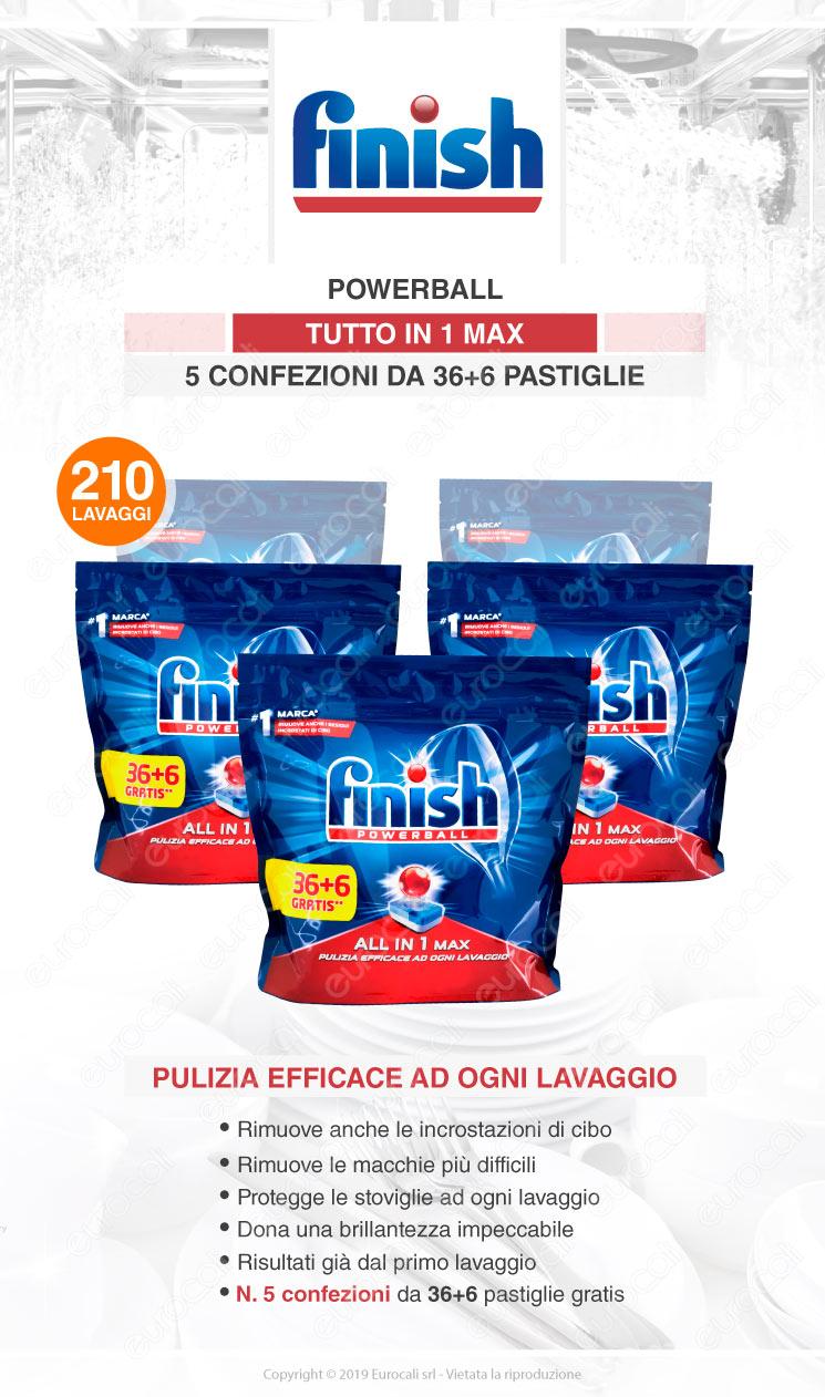 Finish Tutto in Uno Max 210 Lavastovglie