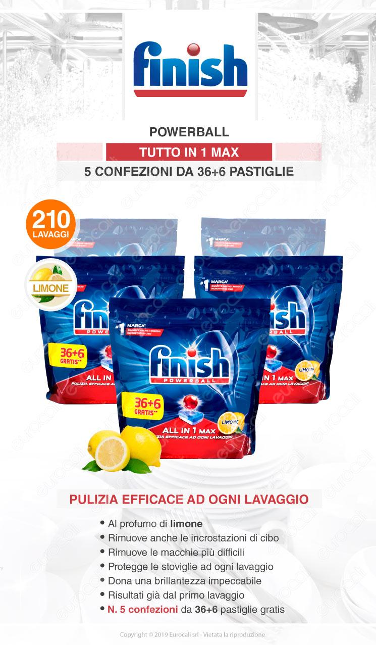 Finish Tutto in Uno Max 210 Lavastoviglie