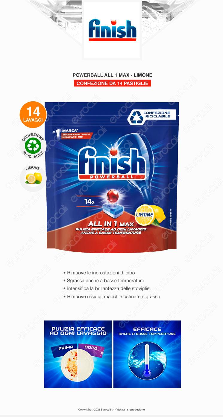 Finish Tutto in Uno Max 24 Lemon