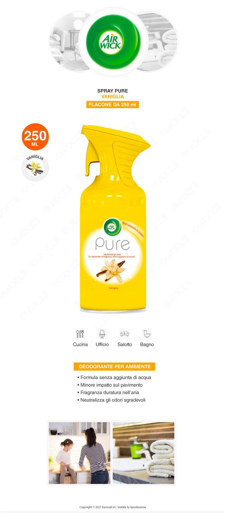 Air Wick Spray Pure Vaniglia