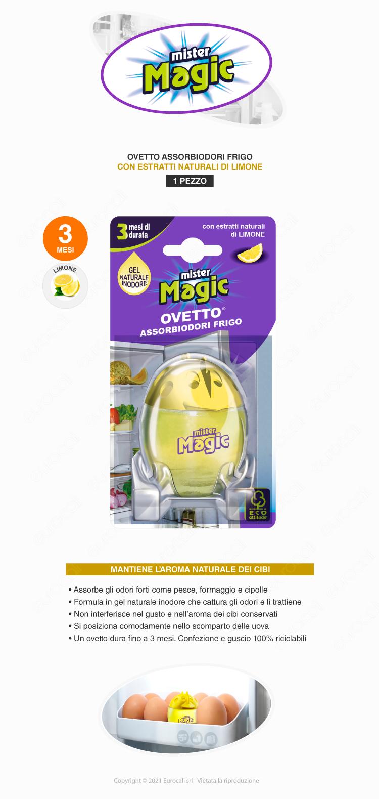 mister magic ovetto frigo limone