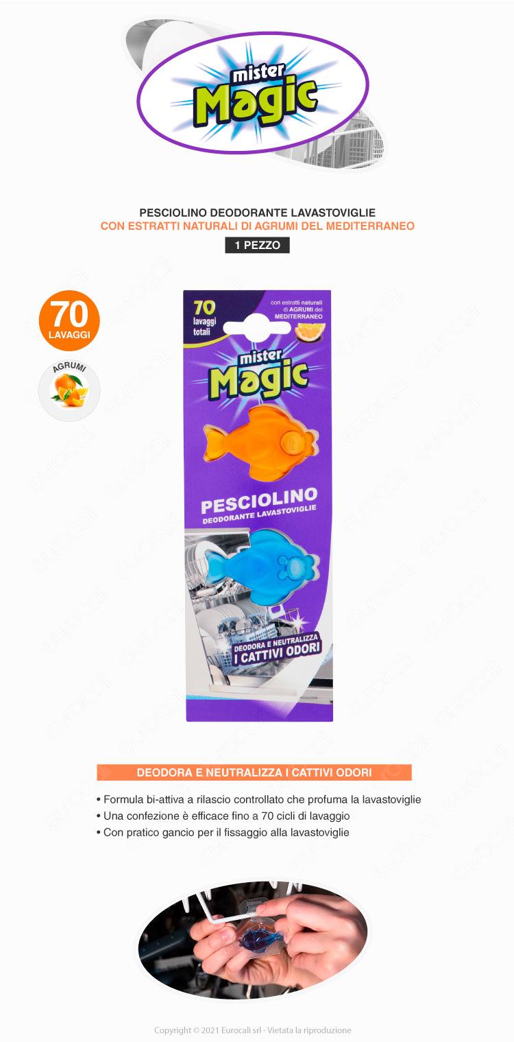 mister magic pesciolino lavastoviglie