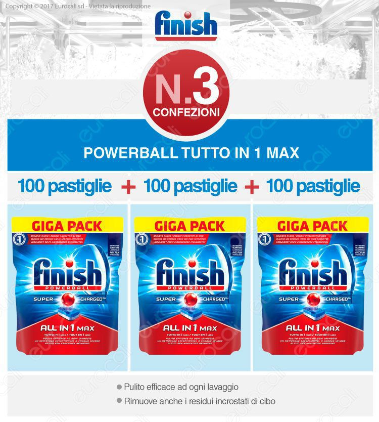 Finish Tutto in Uno Max 300