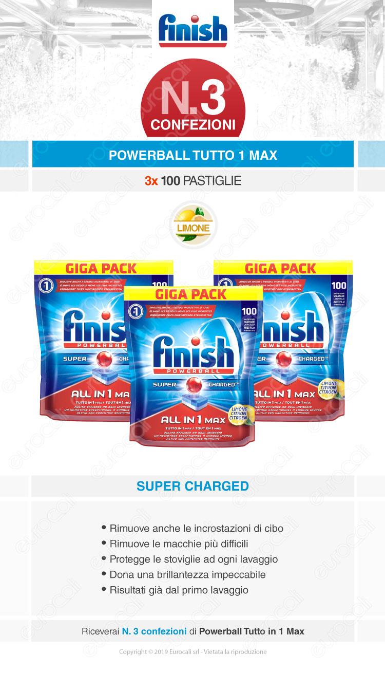 Finish Tutto in Uno Max 300