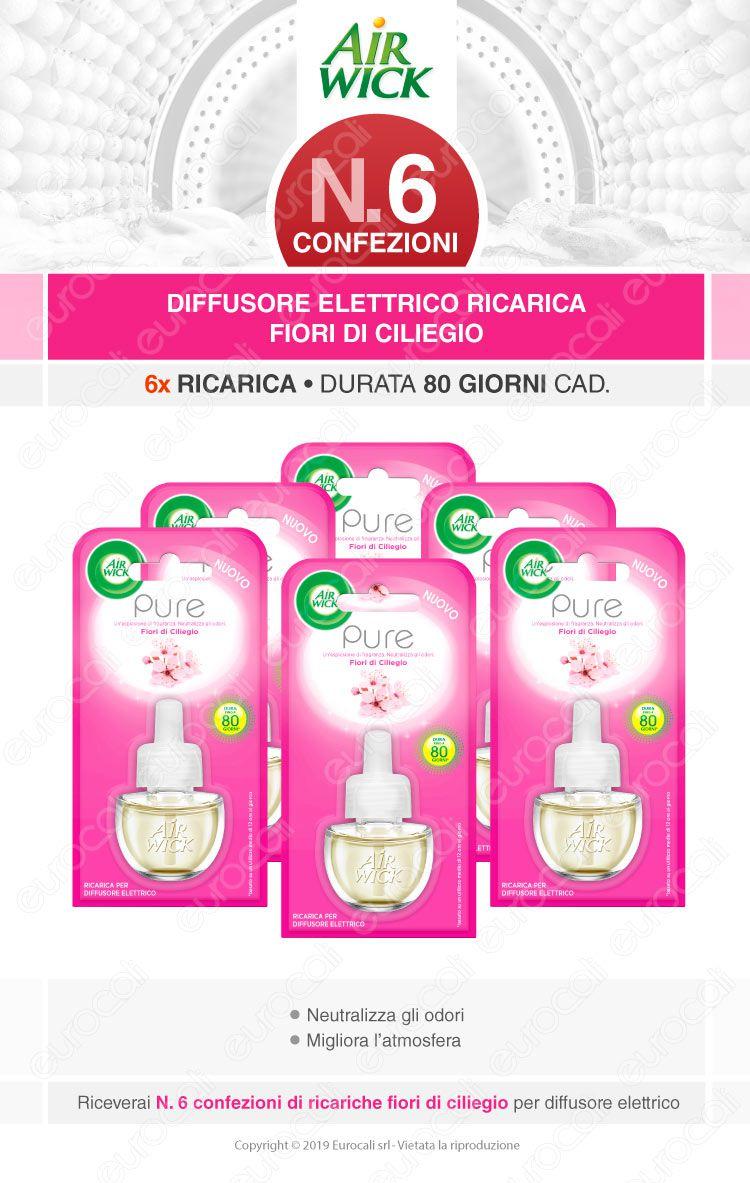 Air Wick Freshmatic Ricarica diffusore elettrico Fiori di Ciliegio