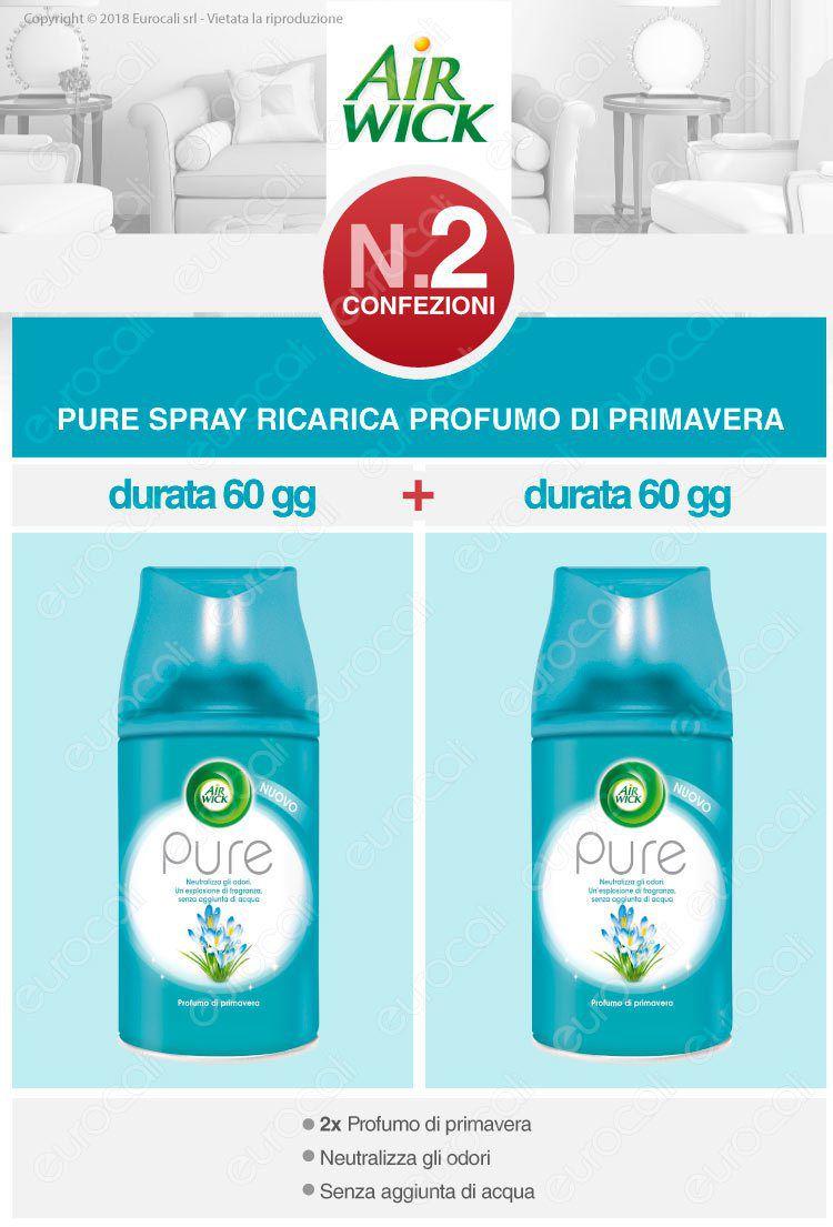 Air Wick Freshmatic Ricarica Spray Profumo di primavera
