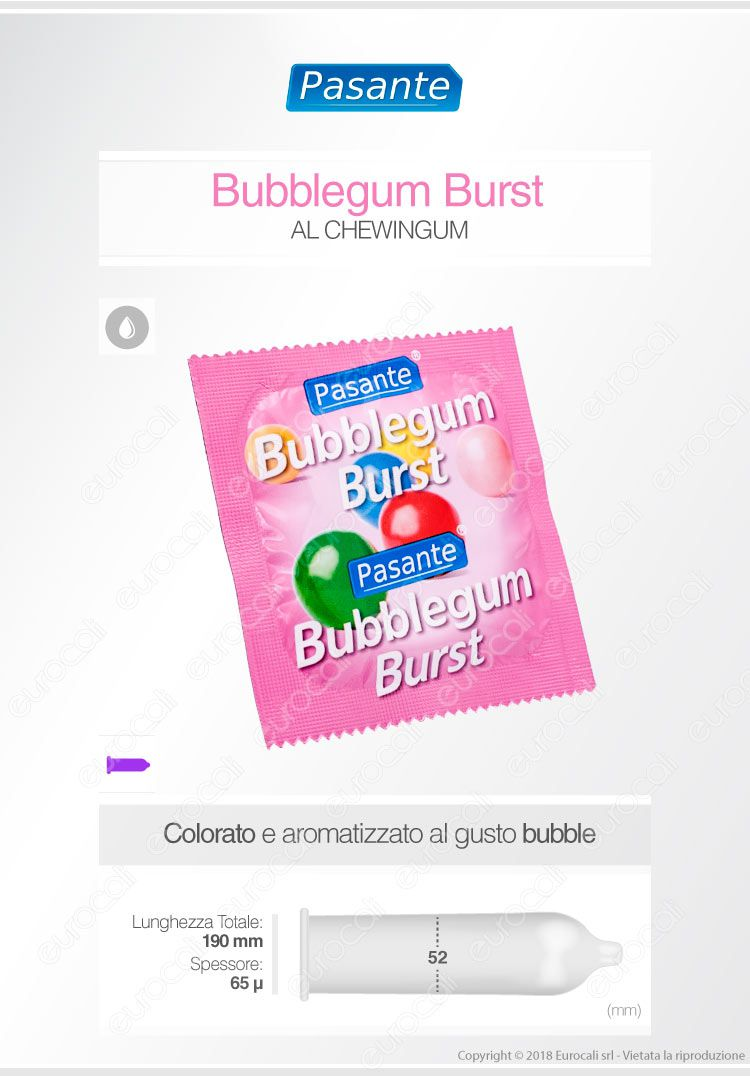 Pasante Bubblegum Burst