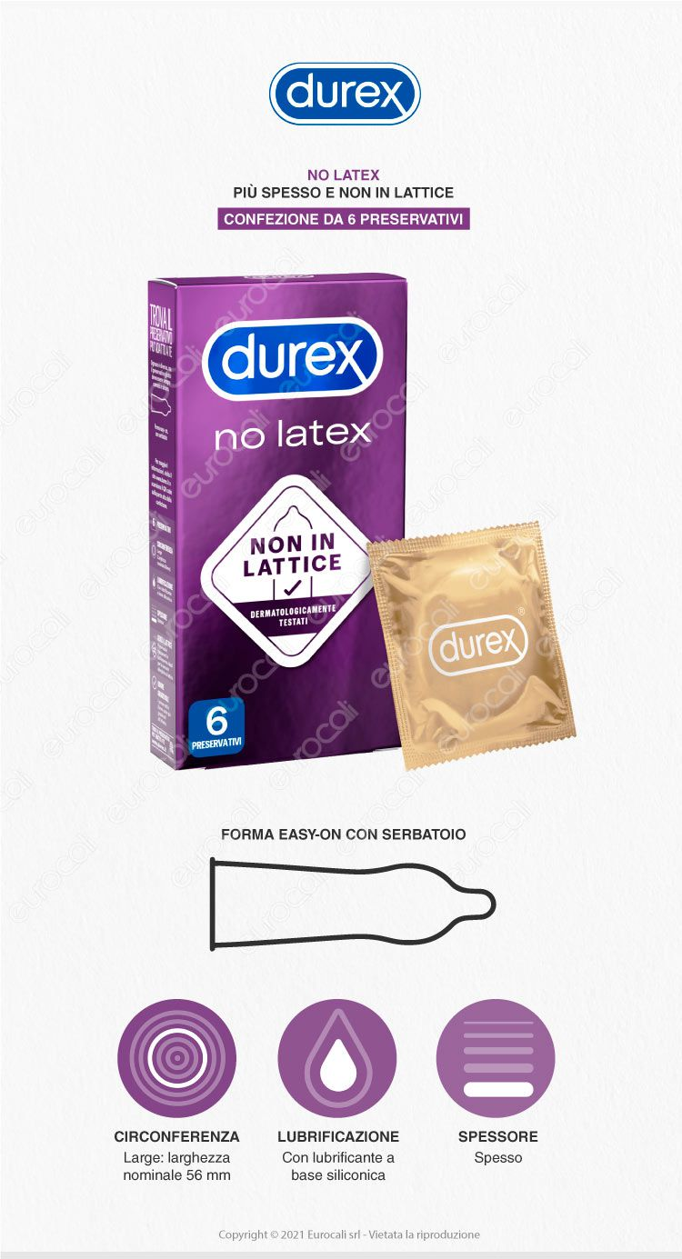 Durex Preservativi No Latex