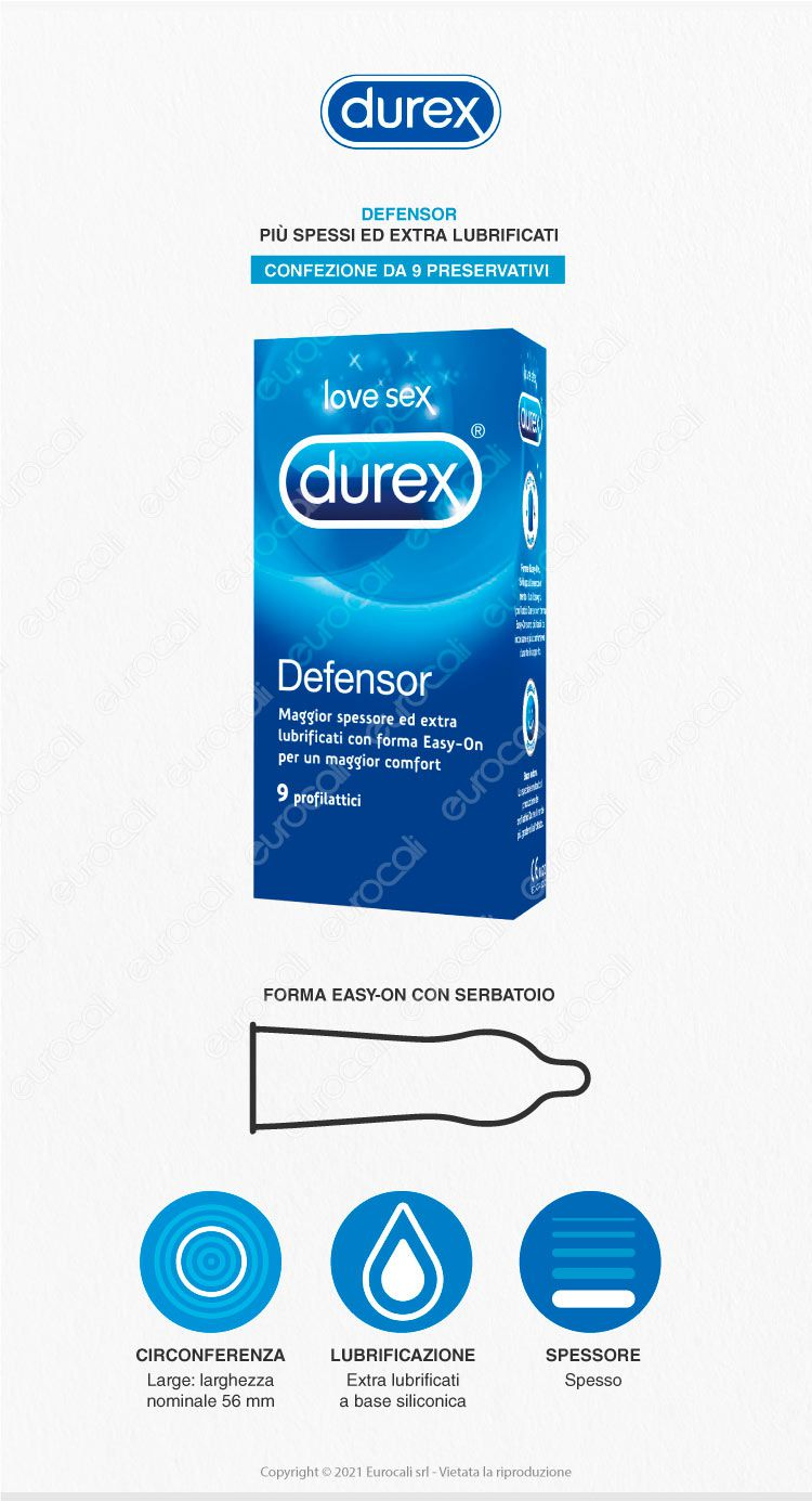 Durex Preservativ defensor