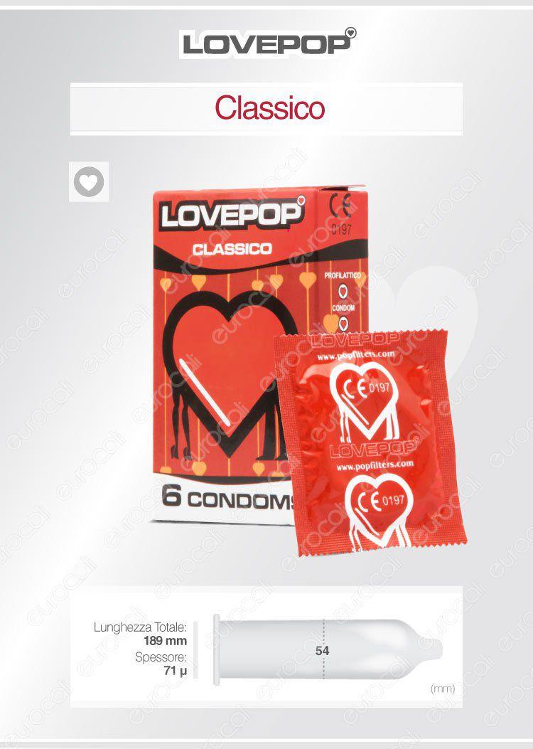 Pop Filters LovePop Preservativi
