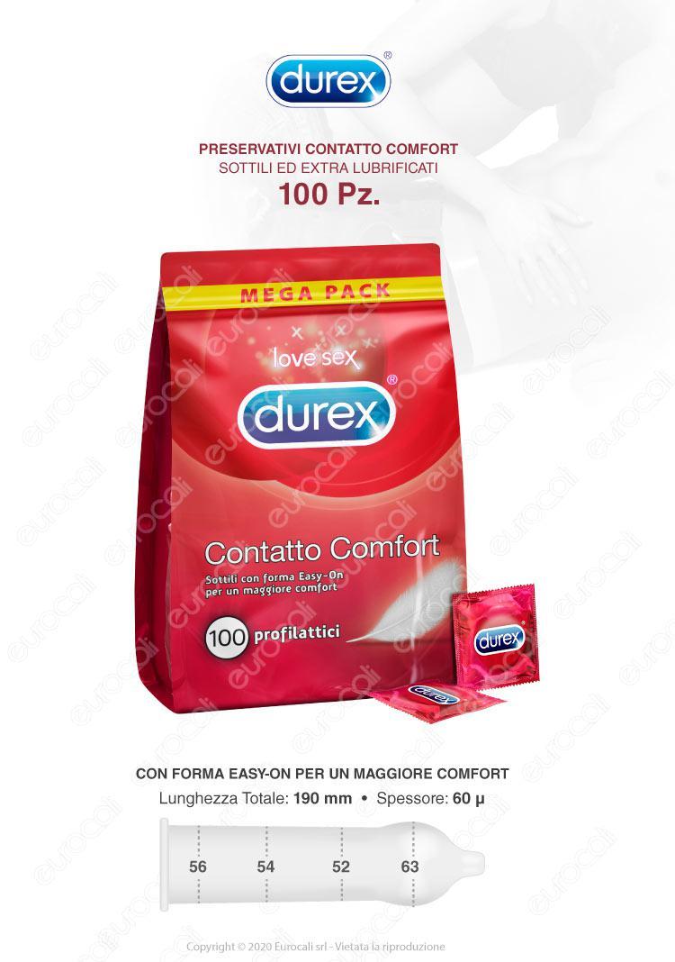 Durex 100 Contatto Comfort