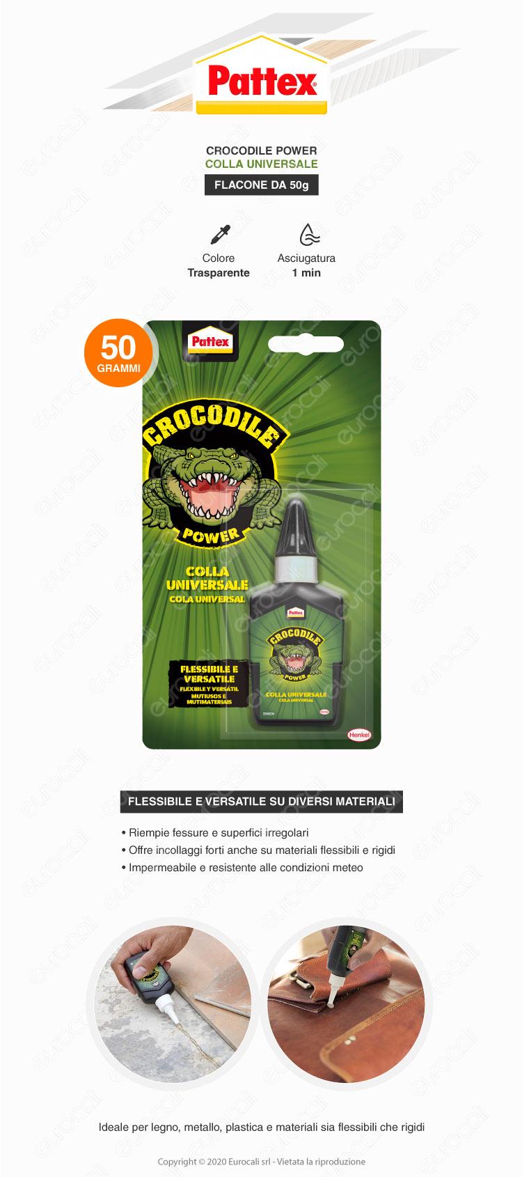 pattex crocodile