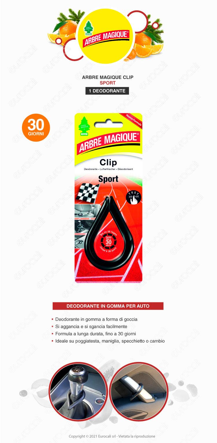 arbre magique clip sport