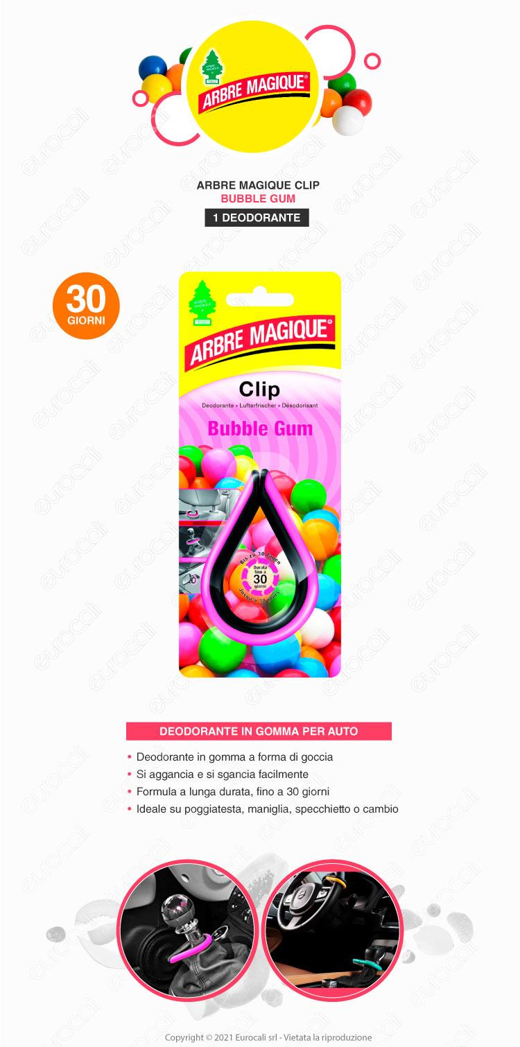 arbre magique bubble gum