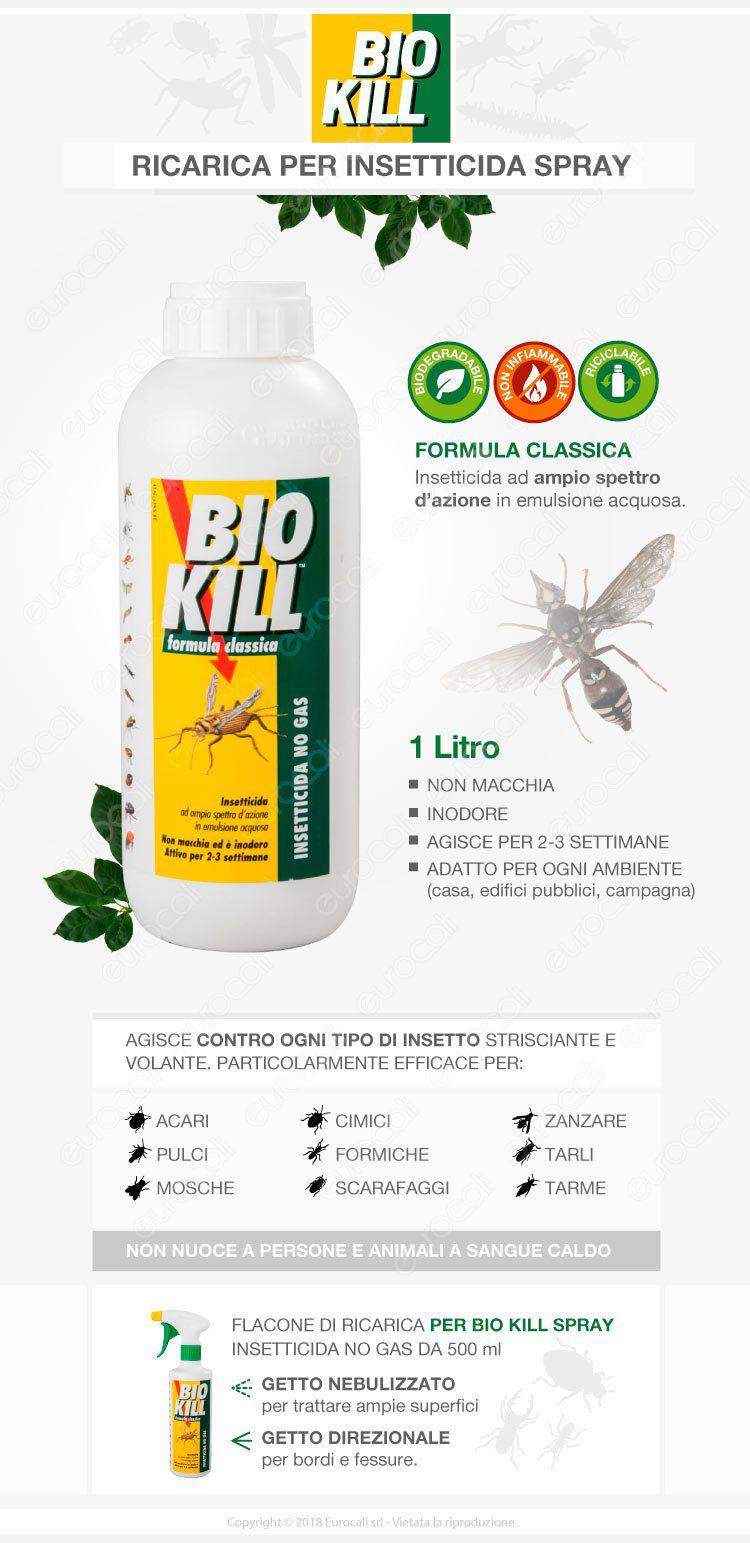 Biokill ricarica 1 L